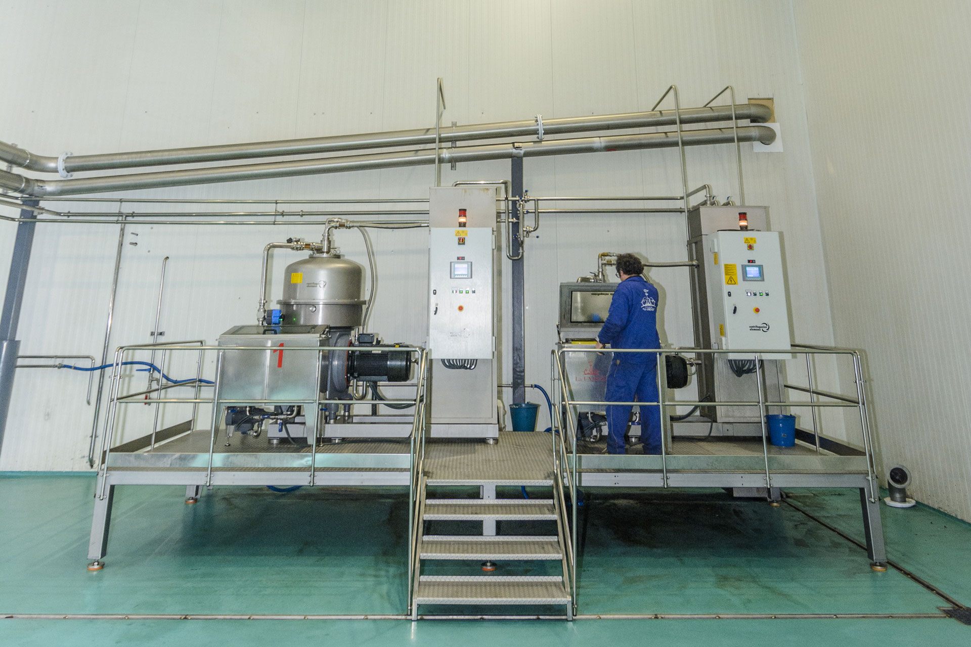 Sala de Elaboración aceite de oliva extra virgen